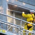 Exterior Facade_Plaza_Parking Structure Cleaning use