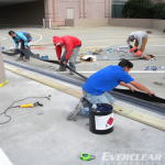 Installing Expansion Joint