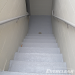 Stairs After Pedestrian Coating