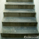 Stairs Before Pedestrian Coating